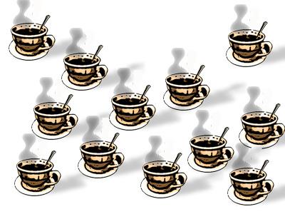 El exceso de café