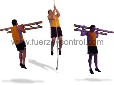 Variantes del ejercicio de dominadas