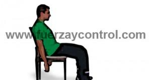 Mala postura sentado