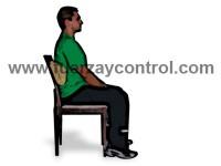 Cojines y elementos para ajustar la postura sentada