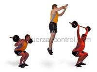 Posibilidades de sentadilla para entrenar la fuerza