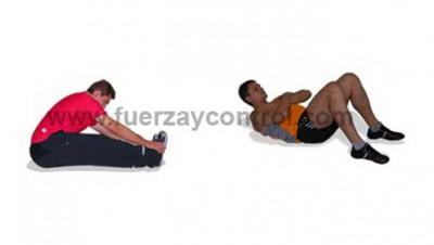 Estiramientos espalda, running como estirar la columna, como se estira la espalda y la tabla de estiramientos de espalda.