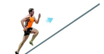 La carrera en cuesta ayuda a desarrollar la potencia del tren inferior
