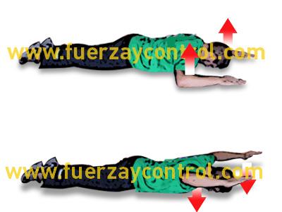 Ejercicio de fortalecimiento de trapecio medio y deltoides posterior