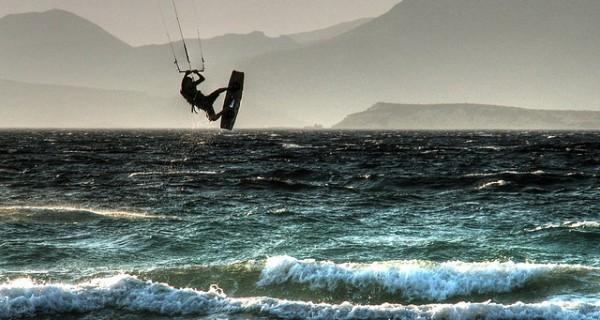 Kytesurfing, la fuerza del viento
