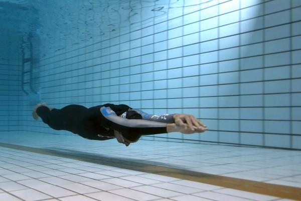 Deslizamiento bajo el agua