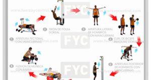 Entrenamiento tabla fortalecimiento dominadas para principiantes