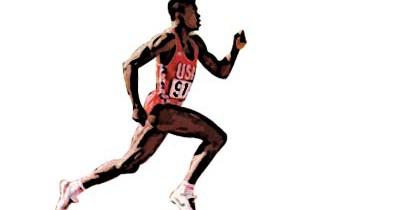 Carl Lewis corredor de velocidad
