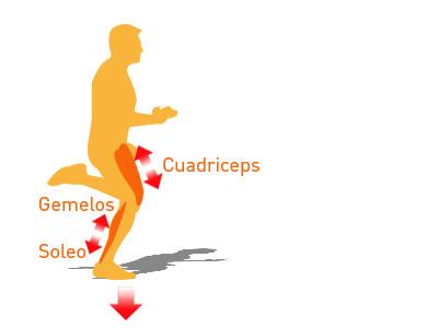 La técnica de carrera: Análisis de las fases del movimiento