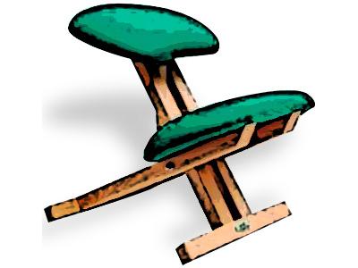 La postura sentada: El apoyo de los asientos