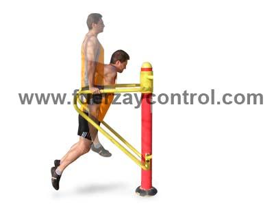 El fondo de brazos en paralelas hay que realizarlo con cuidado