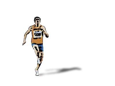 Errores en la carrera: Correr con pies abiertos