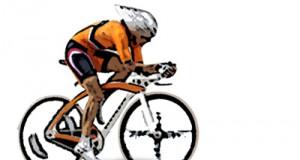 Ciclismo en velodromo pista cubierta