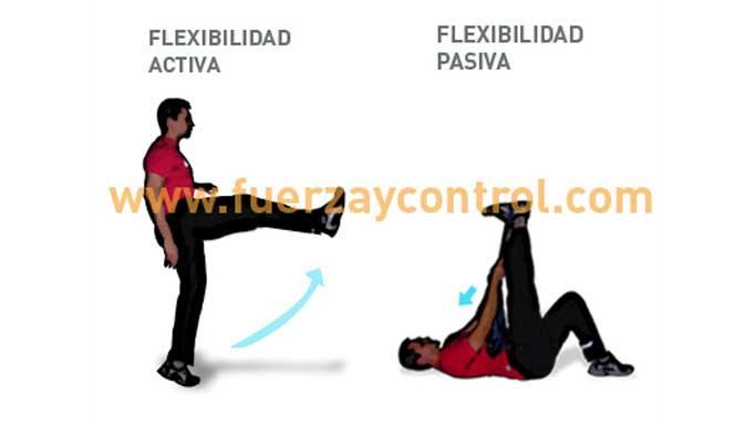 ¿El músculo sólo se estira con acciones pasivas? Flexibilidad activa y pasiva