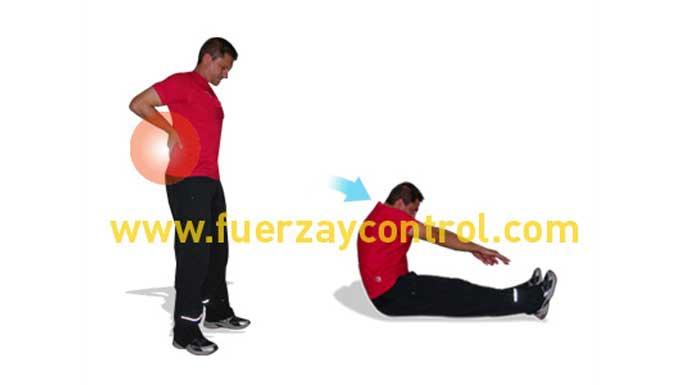Estirar la espalda y lumbares para prevenir el dolor lumbar