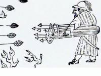 La pólvora y su utilización para disparar los serpentines