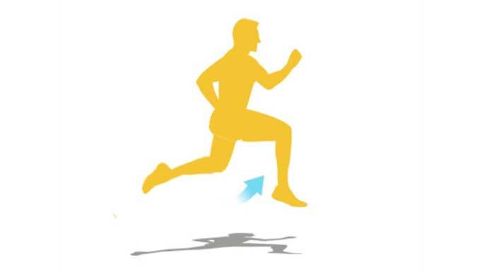 Errores en la carrera: Correr sentado