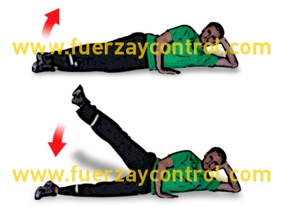 Ejercicio de fortalecimiento de abductores de cadera