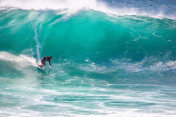 El origen del surf